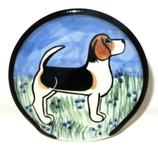 Beagle -Deluxe Spoon Rest