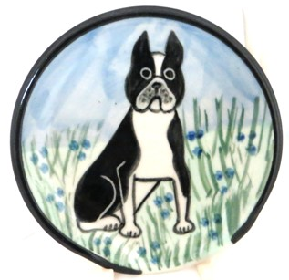 Boston Terrier -Deluxe Spoon Rest
