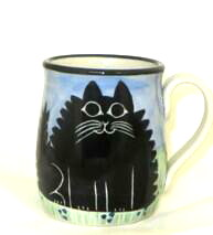 Cat Fat Black -Deluxe Mug