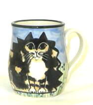 Cat Fat Calico -Deluxe Mug