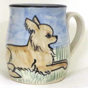 Chihuahua Long Hair Blond -Deluxe Mug