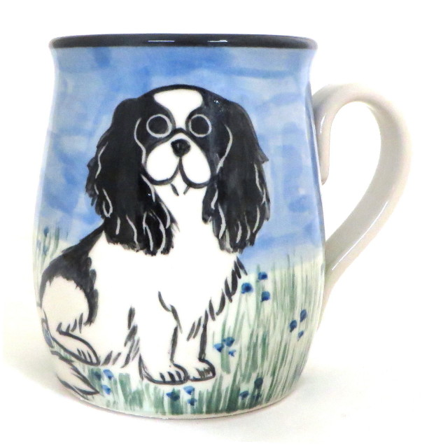 Japanese Chin Black and White -Deluxe Mug