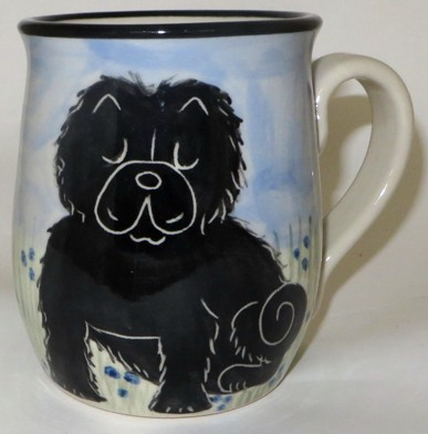 Chow Black -Deluxe Mug