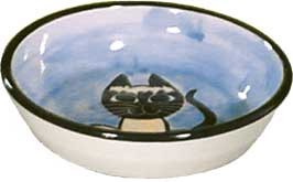 Cat Feeder Bowl - wide