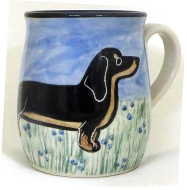 Dachshund Black and Tan -Deluxe Mug