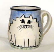 Cat Fat White -Deluxe Mug