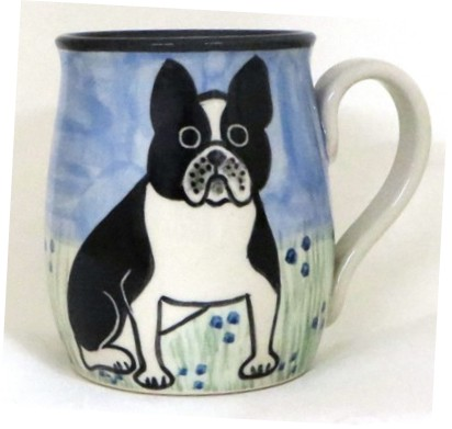French Bulldog Black and White -Deluxe Mug