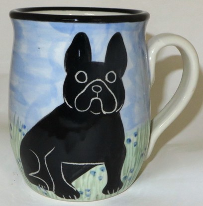 French Bulldog Black -Deluxe Mug