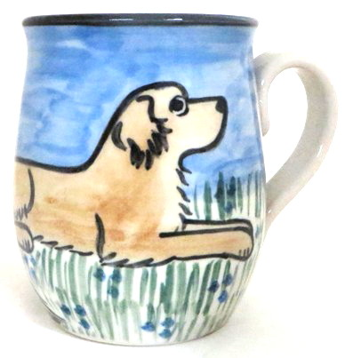 Golden Retriever Light Color -Deluxe Mug