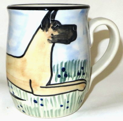 Great Dane Cropped -Deluxe Mug