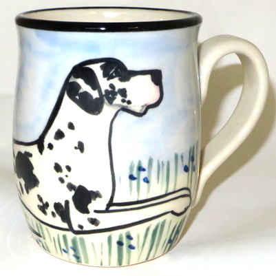Great Dane Harlequin -Deluxe Mug