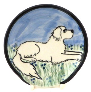 Great Pyrenees -Deluxe Spoon Rest