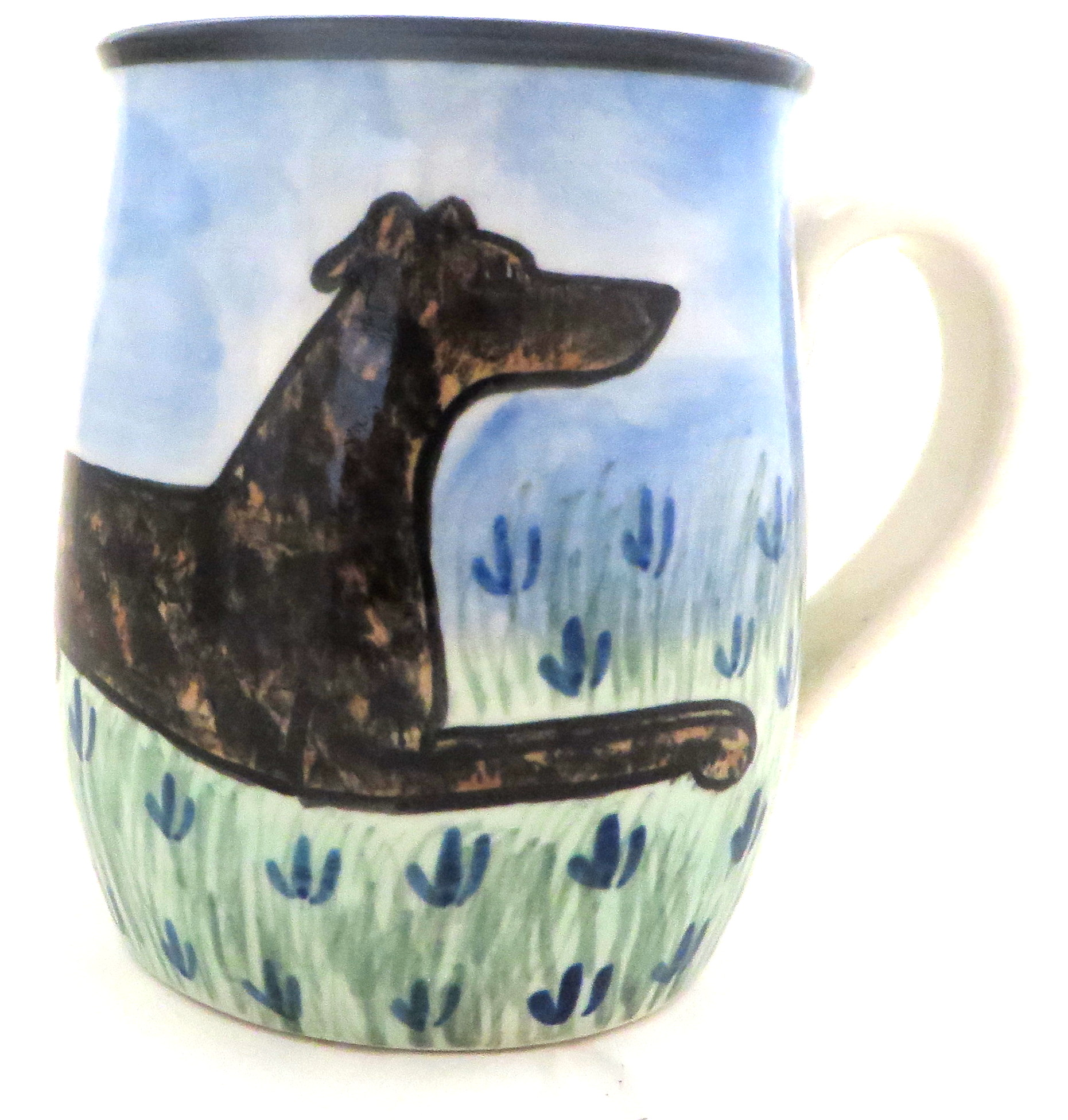 Greyhound Brindle -Deluxe mug