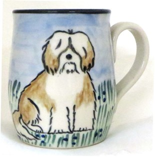 Havanese Brown and White -Deluxe mug