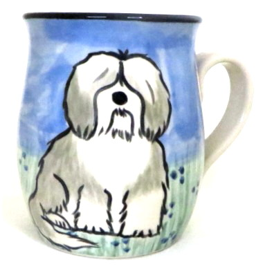 Havanese Grey and White - Deluxe mug