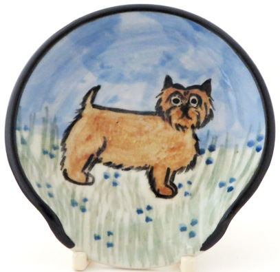Norwich Terrier -Deluxe Spoon Rest