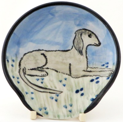 Bedlington Terrier -Deluxe Spoon Rest