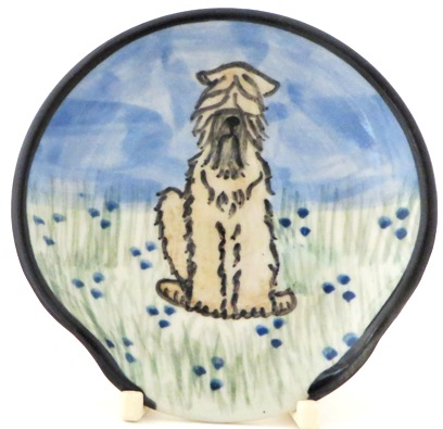 Wheaton Terrier -Deluxe Spoon Rest