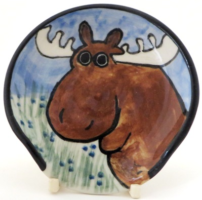 Moose -Deluxe Spoon rest