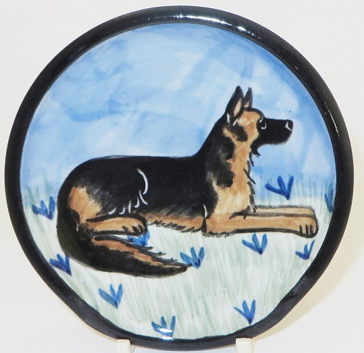 German Shepard -Deluxe Spoon Rest