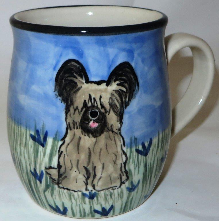 Skye Terrier Black and Tan -Deluxe Mug