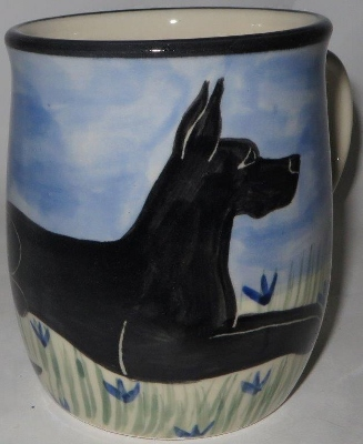 Great Dane Black - Deluxe Mug