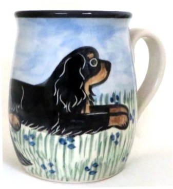 King Charles Spaniel Black and Tan - Deluxe Mug