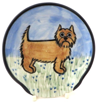 Cairn Terrier -Deluxe spoon Rest