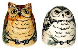 Owl - Salt and Pepper Shaker