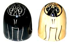 Pugs - Salt and Pepper Shaker