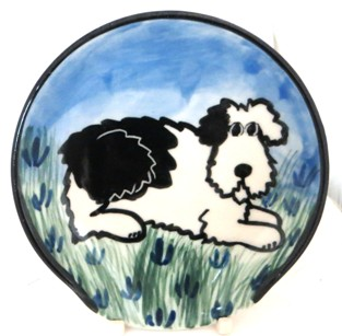Shaggy Sheepdog -Deluxe Spoon Rest
