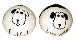 Shaggy Sheepdog - Salt and Pepper Shaker