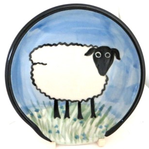 Sheep -Deluxe Spoon Rest