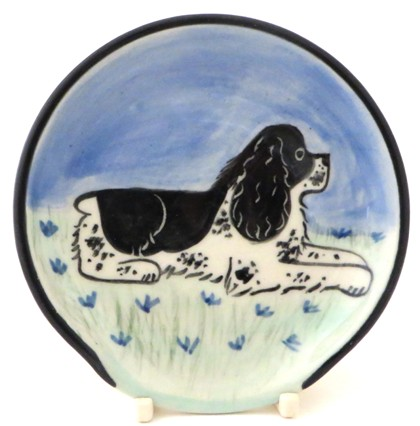 Springer Spaniel Black and White -Deluxe Spoon Rest