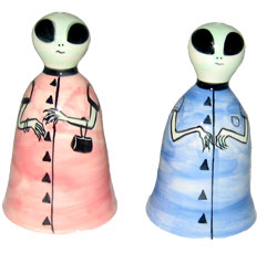 Alien - Salt and Pepper Shaker