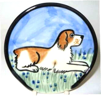 Brittany Spaniel -deluxe Spoon Rest