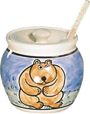 Honey Pot with Dipper $31.00