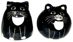 Cats - in Tux - Salt and Pepper Shaker