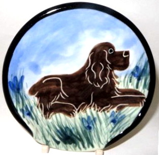 Cocker Spaniel Chocolate -Deluxe Spoon Rest