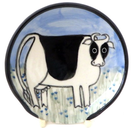Cow -Deluxe Spoon Rest