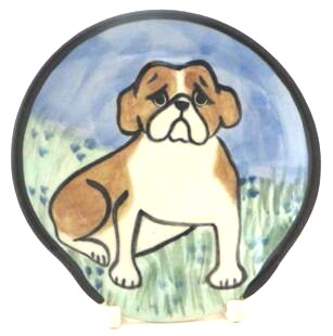 English Bulldog -Deluxe Spoon Rest