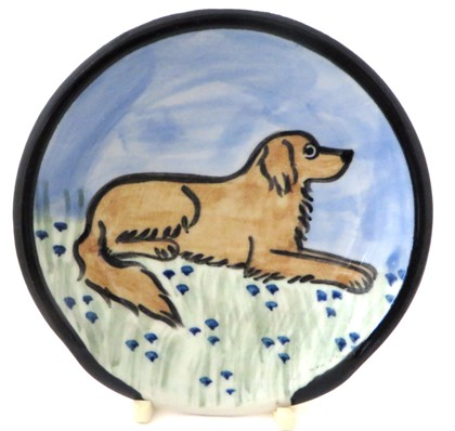 Golden Retriever Medium Color -Deluxe Spoon Rest