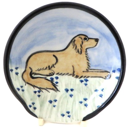 Golden Retriever Light Color -Deluxe Spoon Rest