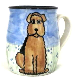 Airedale Terrier -Deluxe Mug
