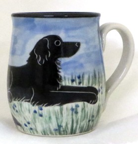 Flat Coated Retriever Black -Deluxe Mug