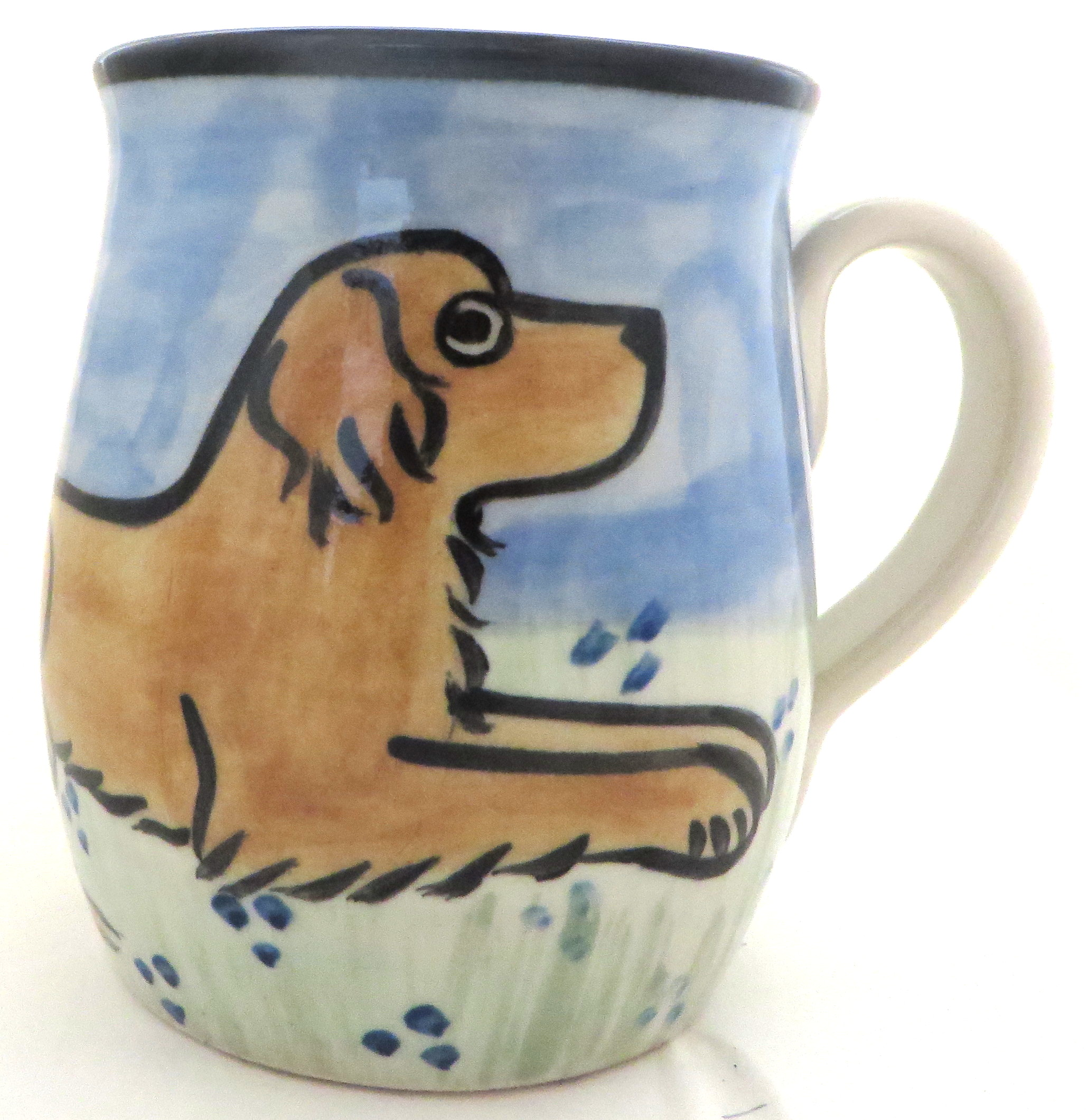 Golden Retriever Medium Color -Deluxe Mug