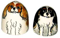 King Charles - Salt and Pepper Shaker
